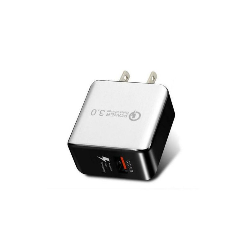 USB Fast Charging Quick Wall Charger Adapter Plug for Samsung Android iPhone LG white_US plug