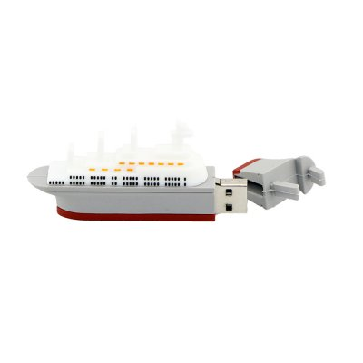 Fashion Ship U Disk USB 2.0 - Gray 8G