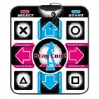USB Gaming Dance Mat Silicone Non Slip Dancing Pad Work with PC As shown
