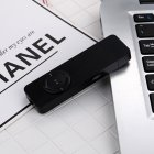 USB Insert Card MP3 Built-in Battery Portable Hang Mini Music Palyer TF Card Extension black