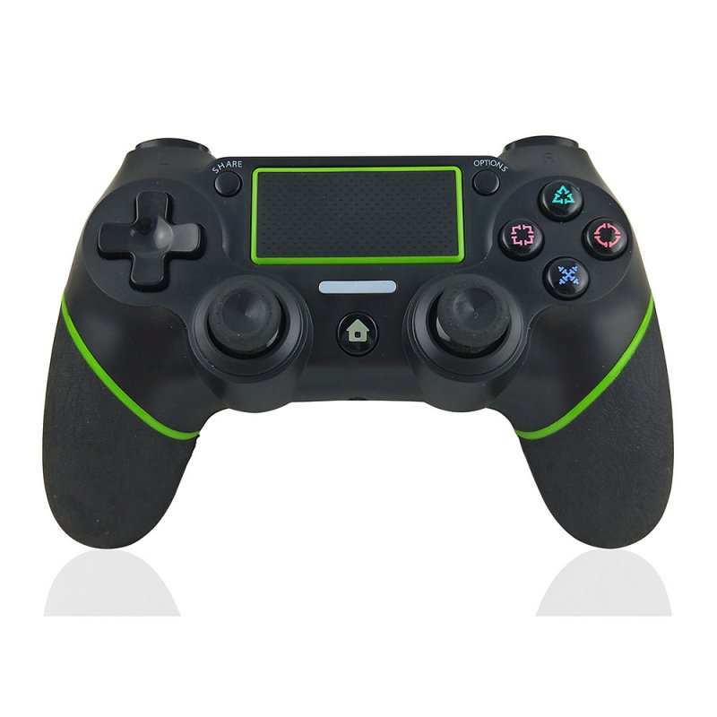 USB Wireless Bluetooth Controller Gamepad for PS4 dark green