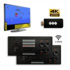 USB Wireless Handheld TV Video Game Console Mini Video Console Support HDMI Output black