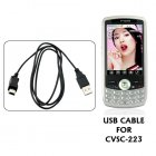USB cable for CVSC 223   The CVSC 223 Cellphone  Did you    misplace    your USB cable
