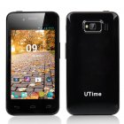 UTime U6 Android 4 2 Smartphone feature a 4 Inch 800x480 Screen  MTK6572 Dual Core 1 3GHz CPU  512MB RAM and a4GB ROM