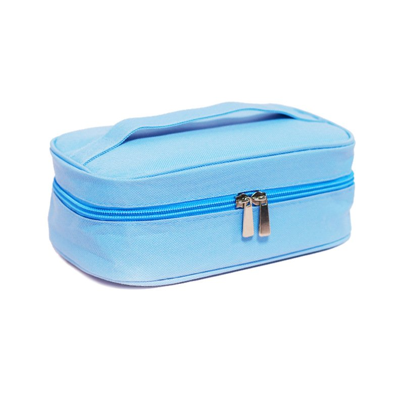 UV Cleaner Box Sanitizer Bag Disinfector LED Disinfection Underwear Sterilization Pouch  Light blue_One size