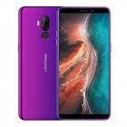 Ulefone P6000 Plus Android 9 0 LTE 4G Mobile Phone 3GB RAM 32GB ROM 6 0inch Quad Core Dual SIM Fingerprint Purple EU Plug