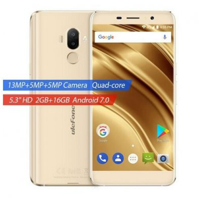 Ulefone S8 Pro 2+16GB Cellphone - Gold