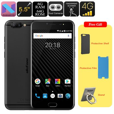 Ulefone T1 Android Smartphone (Black)