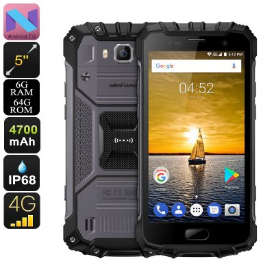 Ulefone Armor 2 Android Phone (Gray)