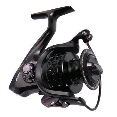 Bearing Fishing Reel black