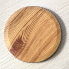Ultra Thin Desktop QI Wireless Charger Mini Charging Pad for iPhone XS MAX XR X 8 Plus Samsung Note 9 S9 S8 Xiaomi Wood grain 5w