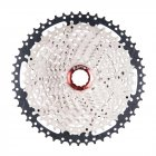 ZTTO MTB 11 Speed Cassette 11 s 11-50 t  UltraLight Freewheel Mountainbike Cassette Flywheel 11 speed 50T black silver