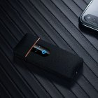 Ultra-thin Touch Sensor E-cig Lighter Black