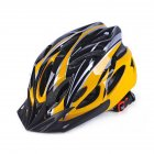 Ultralight Bicycle Helmet Integrated Molding Breathable Cycling Helmet for Man Woman Yellow black_free size
