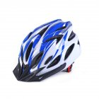 Ultralight Bicycle Helmet Integrated Molding Breathable Cycling Helmet for Man Woman blue white free size