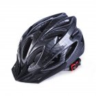 Ultralight Bicycle Helmet Integrated Molding Breathable Cycling Helmet for Man Woman Carbon black free size