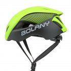 Ultralight Integrated Cycling Helmet Road Mtb Bike Safe Helmet  green_One size