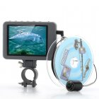 Underwater Fishing Camera has a 3 5 inch Color Monitor  a 2MP Camera  and 20 Meters Underwater Depth Range