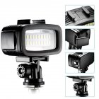 Underwater LED Lighting Lamp for GoPro Hero Motion Camera Supplementary LED Lighting Black