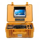 Underwater camera kit with 7 inch monitor lest you view footage at up to 20 meters below the waves ideal for fishing  surveying diving locations and more