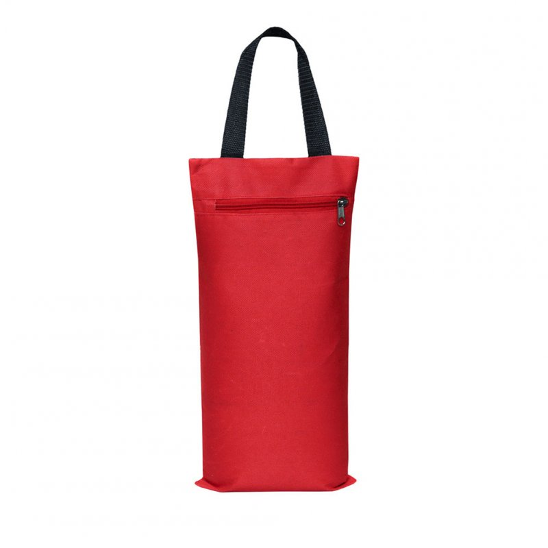 Unfilled Sandbag for Yoga Weights and Resistance Training with Inner Waterproof Bag red_41 * 18cm