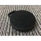 Unique Chic Circular Fabric Art Speaker Wireless Bluetooth Portable Hook Subwoofer  black
