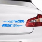 Tiger Flame Totem Decal Car Sticker