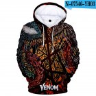 Unisex 3D Printed Fashion Round Neck Long Sleeve Hoodies 121 M