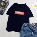 Unisex Cartoon Letters Printing Loose Short Sleeve T shirt for Summer