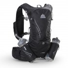 Unisex Cross-country Backpack with Kettle Ultra Light Outdoor Riding Running Water Bag black