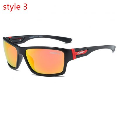 Unisex Outdoor Polarized Sunglasses 3# D2071