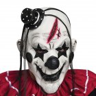 Unisex Scary Devil Clown Mask Latex Costume Head Mask for Halloween Party Prop white