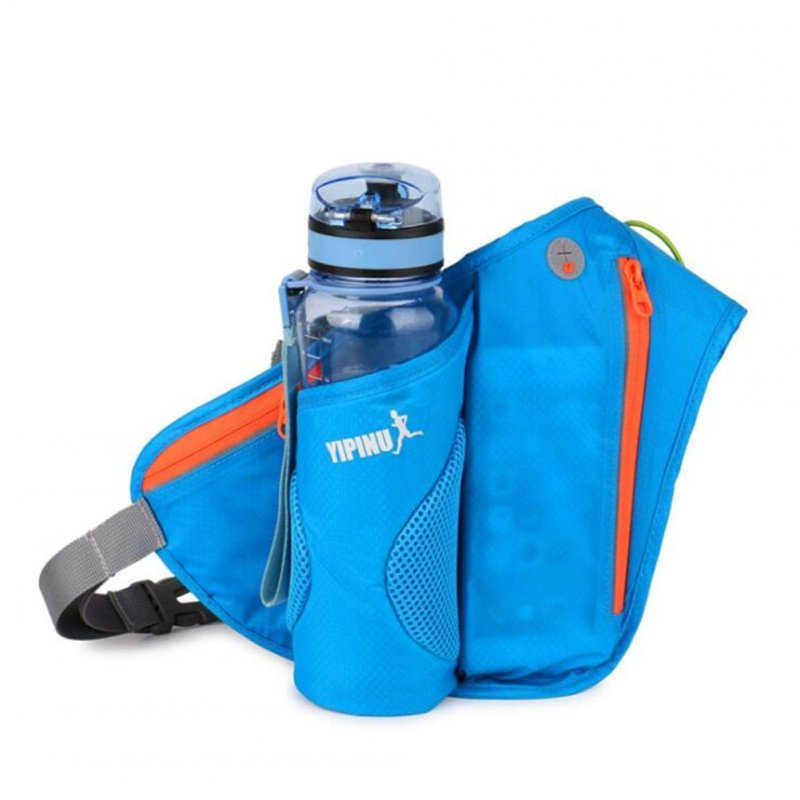 Unisex Sports Bag Running Mobile Phone Bag Outdoor Cycling Waterproof Kettle Bag blue_One size