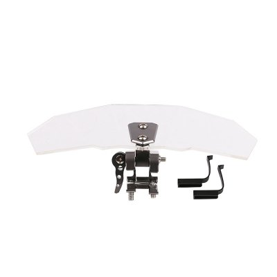 Universal Adjustable Motor Windshield Wind De