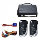Universal Car Auto Keyless Entry System Button Start Stop LED Keychain Central Kit Door Lock with Remote Control black
