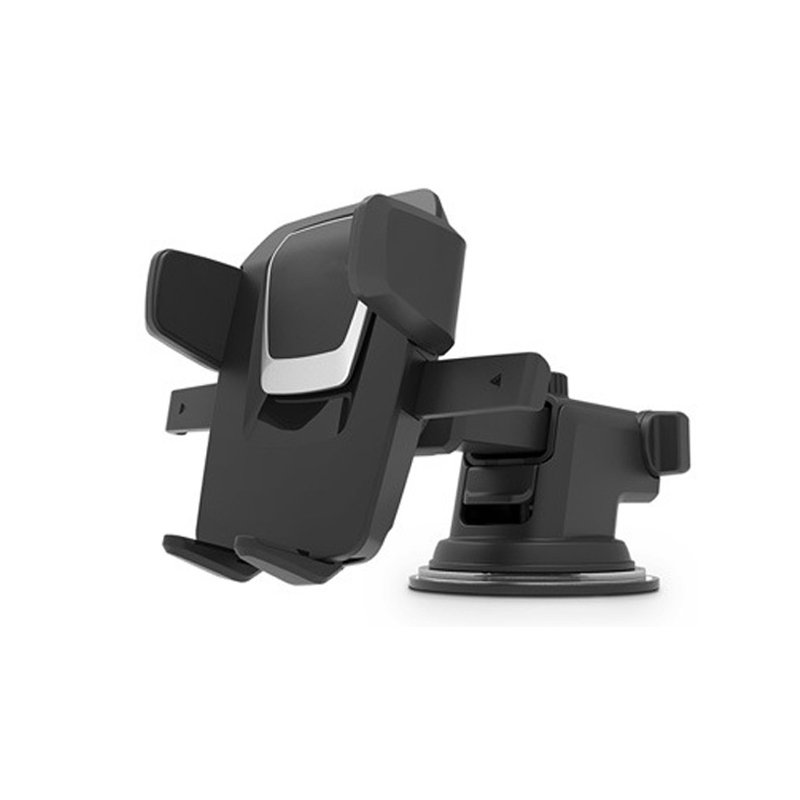 Universal Car Holder Windshield Suction Cup Mount Stand for Cell Phone GPS silver