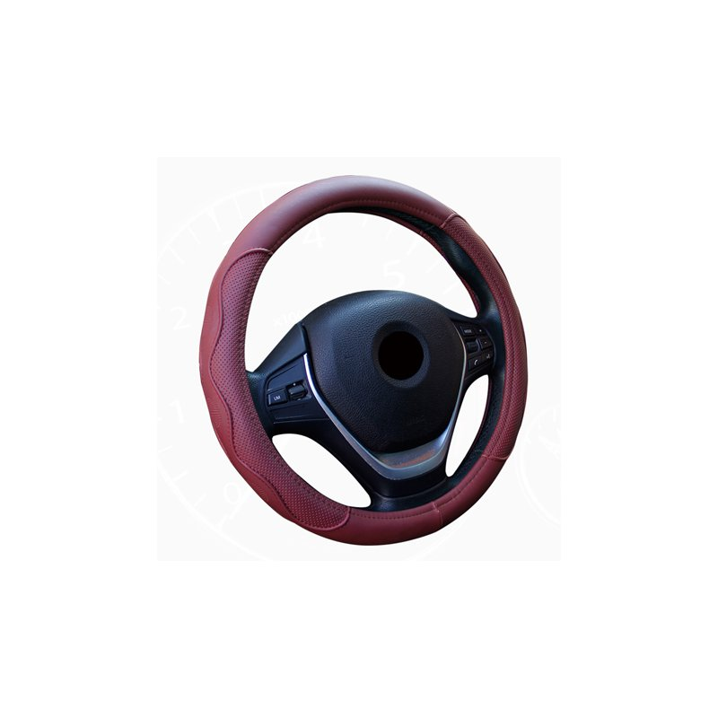 Anti-slip Steering-wheel Leather Cover