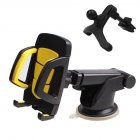 Universal Car Phone Holder Glass Sucker Navigation Dashboard Bracket