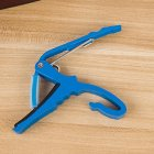 Universal Metal Capo Tune Clamp Trigger for Acoustic / Classical / Folk / Electric Guitar Ukulele blue