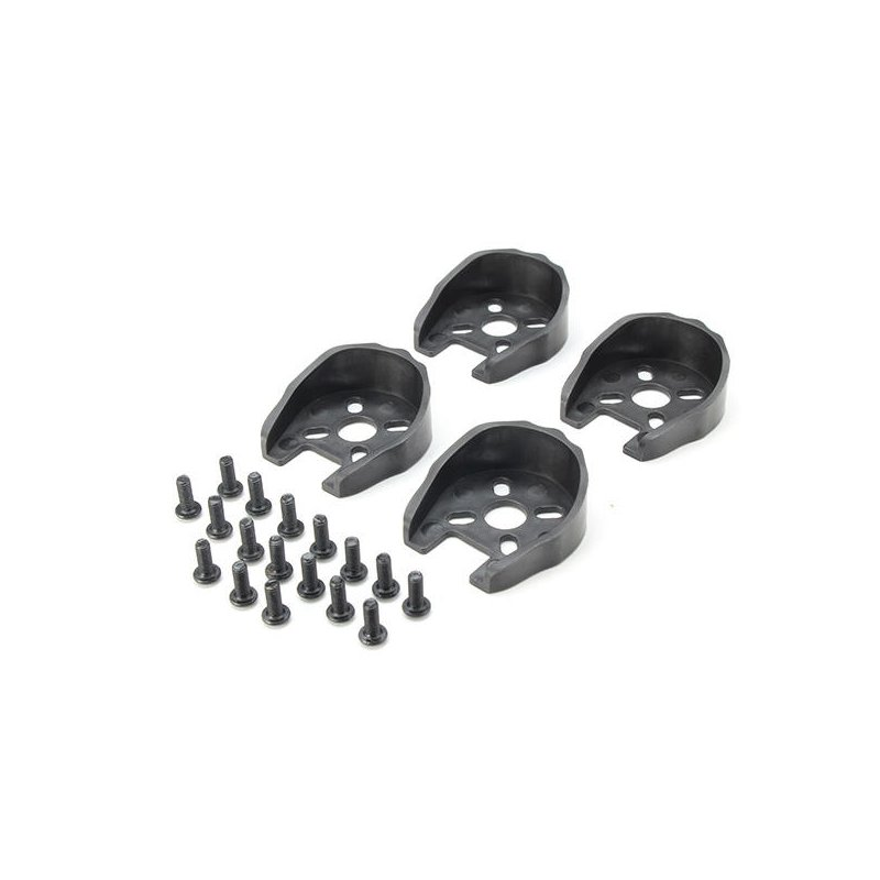 Universal Motor Cover Protection for 22 Series Motors + M3*8 Screw Set for RC Drone FPV Racing black