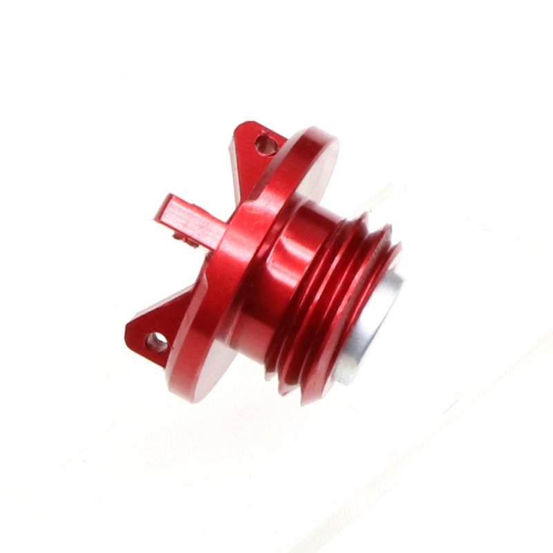 Universal Motorcycle Engine Oil Cap CNC Filler Cover for Kawasaki z800 z1000 ZX-6R red