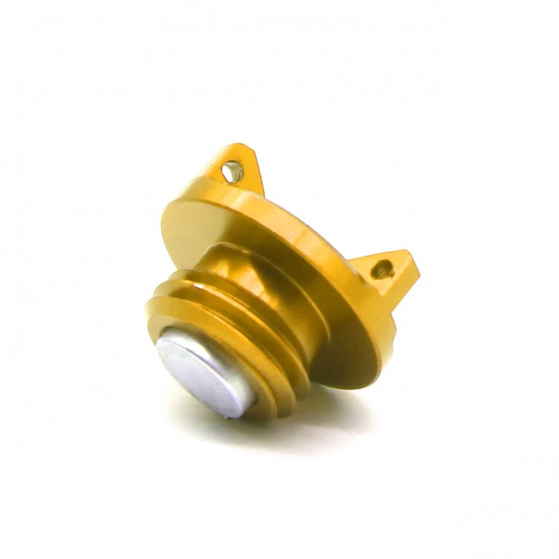 Universal Motorcycle Engine Oil Cap CNC Filler Cover for Kawasaki z800 z1000 ZX-6R gold