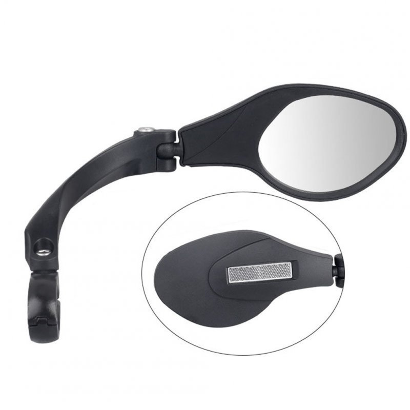 Universal Stainless Steel Lens Handlebar Bike Mirror Safe Rearview Mirror HF-MR081R