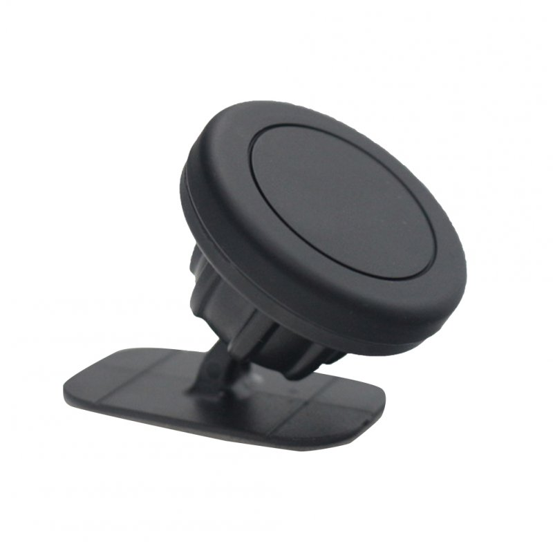 Universal Stick On Dashboard Magnetic Car Mount Holder for Cell Phones black