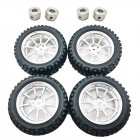 Universal Upgrade Wheel Tire for DIY RBR C MN D90 91 96 99 99S RC Car Parts 4pcs