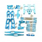 Upgrade Metal Parts Kit for Feiyue FY03 WLtoys 12428 1/12 RC Buggy Car Parts blue