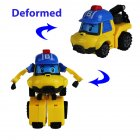 Upgrade Q Version Manual Deformation Robot Simulate Car Shape Toy for Kids New baki