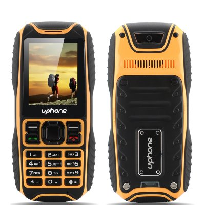 Uphone U3A IP67 Rugged Phone (Yellow)