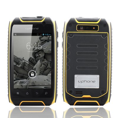 Uphone U5+ IP67 Smartphone (Yellow)