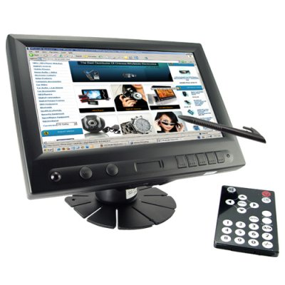 8 Inch LCD Touch Screen Monitor (Widescreen 16:9)
